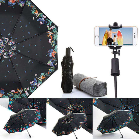 SELFIEBRELLA™ Anti UV Foldable Selfie Stick Umbrella:Hobbies Unleashed