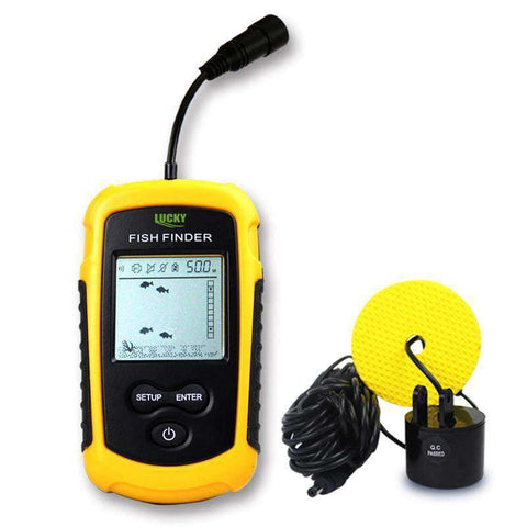 LuckyCatch Portable Sonar Fish Finder:Hobbies Unleashed