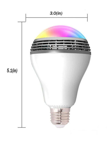 PlayBulb™ Smart LED Bulb Light Wireless Bluetooth Speaker:Hobbies Unleashed