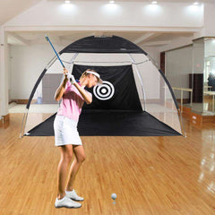 10' XXL Golf Practice Net & Swing Cage + Free Carrying Bag:Hobbies Unleashed
