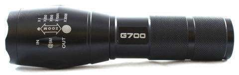 G700 - #1 Tactical High-Powered Military-Grade Flashlight:Hobbies Unleashed