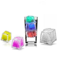 Glowing Ice-Cubes