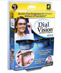 Dial Vision Adjustable Lens Eyeglasses:Hobbies Unleashed