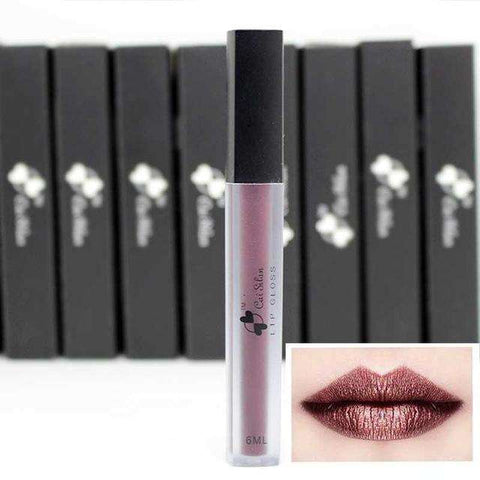 DiamondKiss Metallic Matte Liquid Lipstick:Hobbies Unleashed