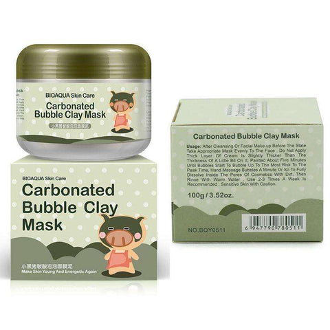 Carbonated Bubble Clay Mask:Hobbies Unleashed