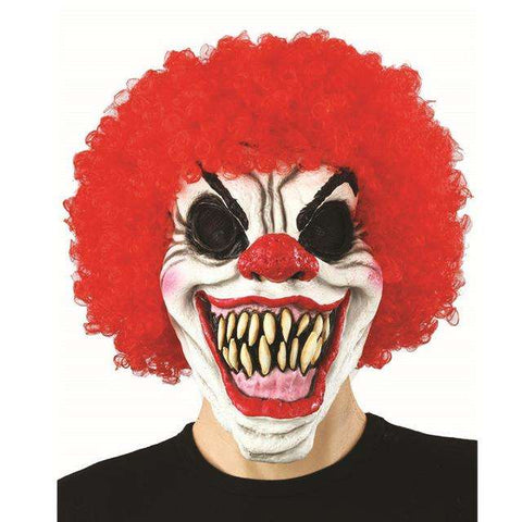 SpookyCircus™ Realistic Scary Clown Mask For Halloween:Hobbies Unleashed