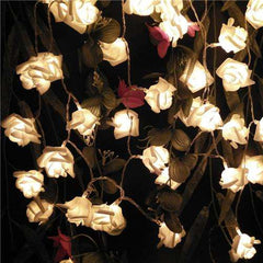 RadiantRose™ Luminous Rose String lights (2M, 20 LED)