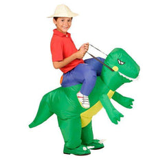JurassicRider™ Inflatable Dino Rider Costume for Kids and Adults