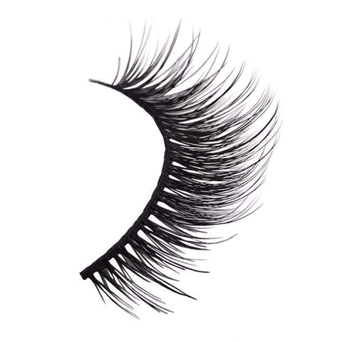 GlamLashes™ Realistic Mink False Eyelashes (3 pairs):Hobbies Unleashed