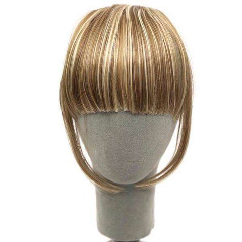 InstaFringe™ Clip-On Synthetic Fringe Hairpiece:Hobbies Unleashed