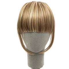 InstaFringe™ Clip-On Synthetic Fringe Hairpiece