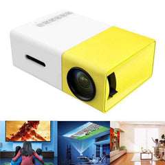 LumiHD™ Ultra-Portable LED Mini Projector w/1080p Full HD Support:Hobbies Unleashed