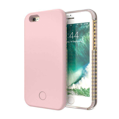 SelfieLight™  - Durable Led Illuminated Cell Phone Case – Ultimate Flashing Case – Super Thin Protective Cover for iPhone and Android:Hobbies Unleashed