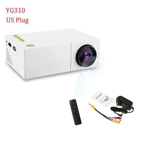 1080p FULL HD Home Theater- Portable Projector - LED:Hobbies Unleashed