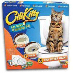 CittiKitti™ Easy to Learn Cat Toilet Seat Training System:Hobbies Unleashed