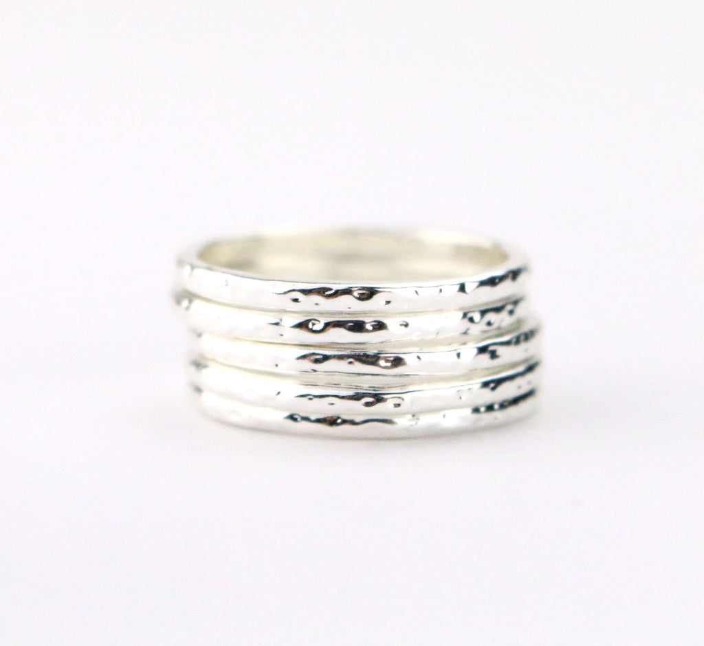 Textured Ring - Made to Layer