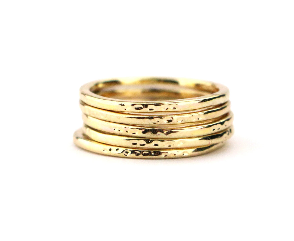 Dainty Textured Ring - Made to Layer