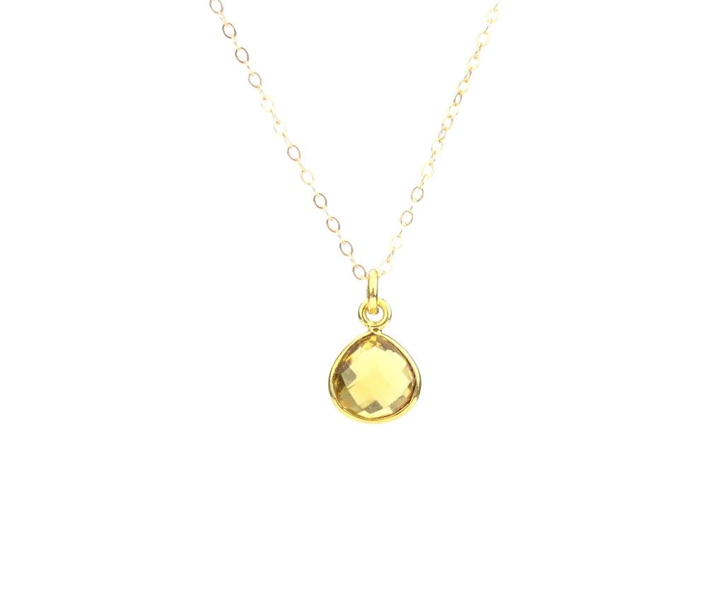 Citrine Necklace (November)