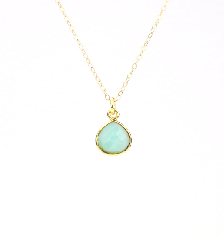 Amazonite Necklace - Made to Layer