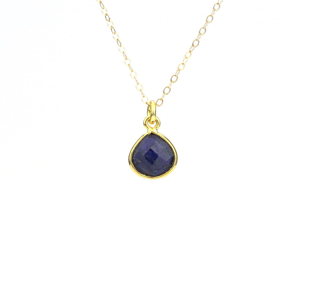Lapis Lazuli Necklace (December) - Made to Layer
