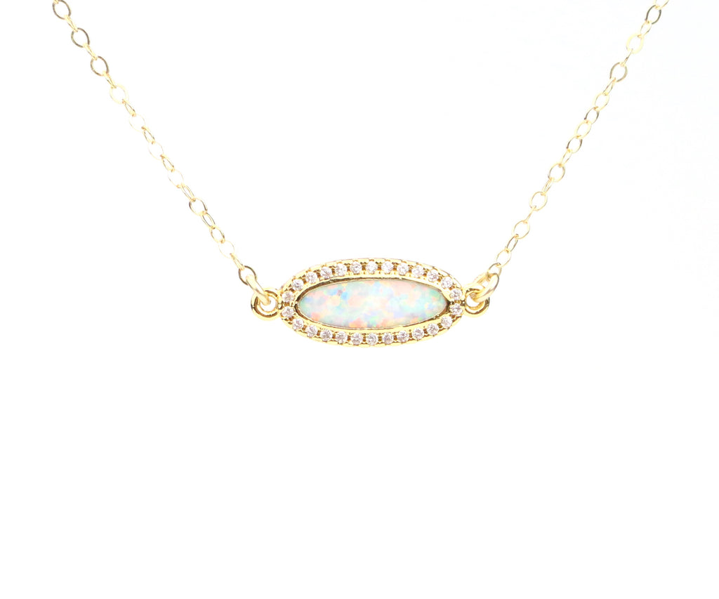 Opal Necklace - Made to Layer