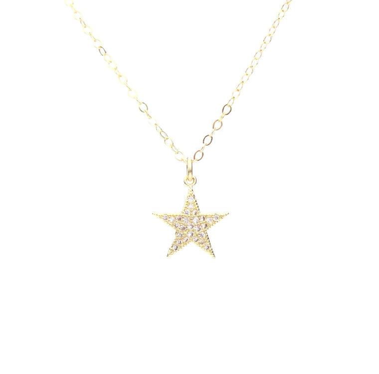Star CZ Necklace - Made to Layer