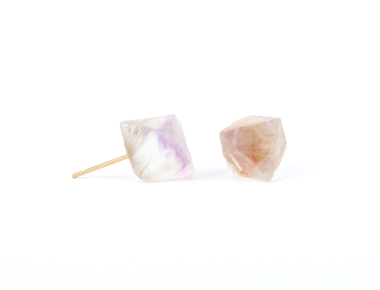 Fluorite Earrings - Made to Layer