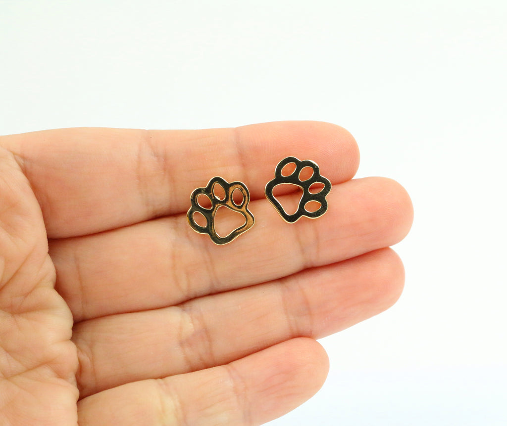 Animal Paw Dainty Studs - Made to Layer
