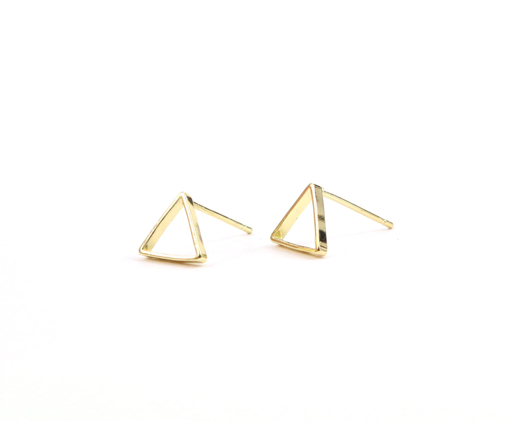 Triangle Dainty Studs - Made to Layer