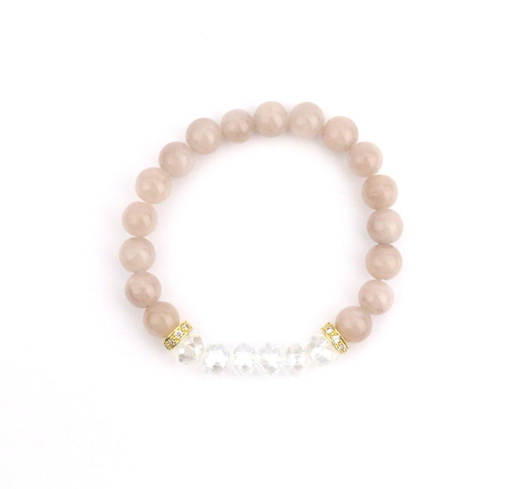 Jade Crystal Bracelet - Made to Layer