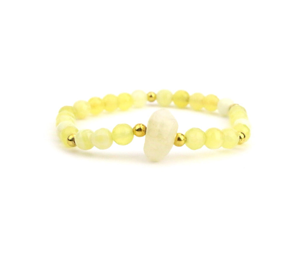 Citrine Bracelet - Made to Layer