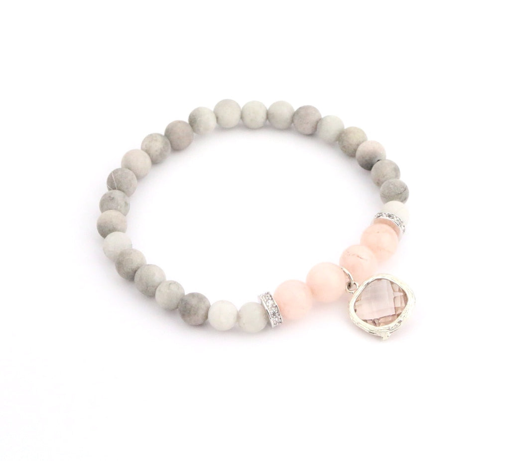 Druzy Crystal Bracelet - Made to Layer