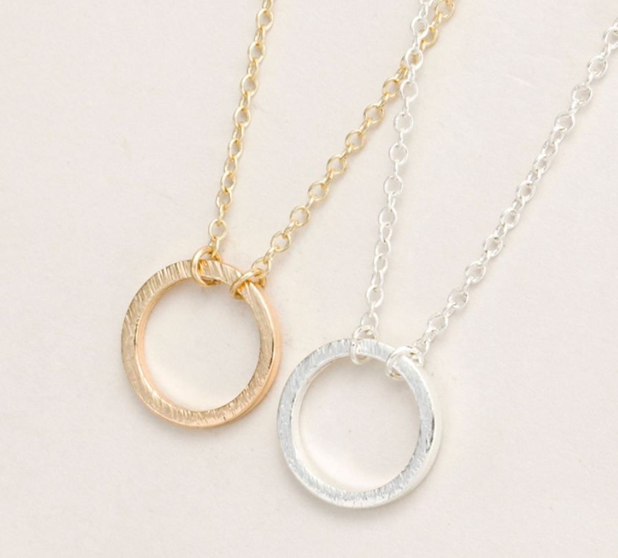 Open Circle Necklace - Made to Layer