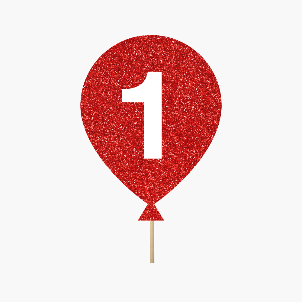 "Red Balloon ""1"""