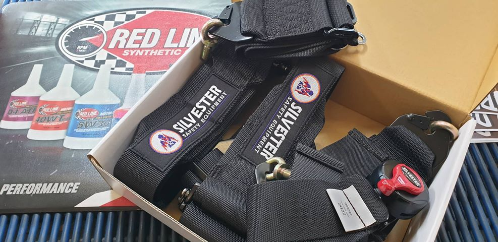 Silvester 6 Point Race Harness Camlock