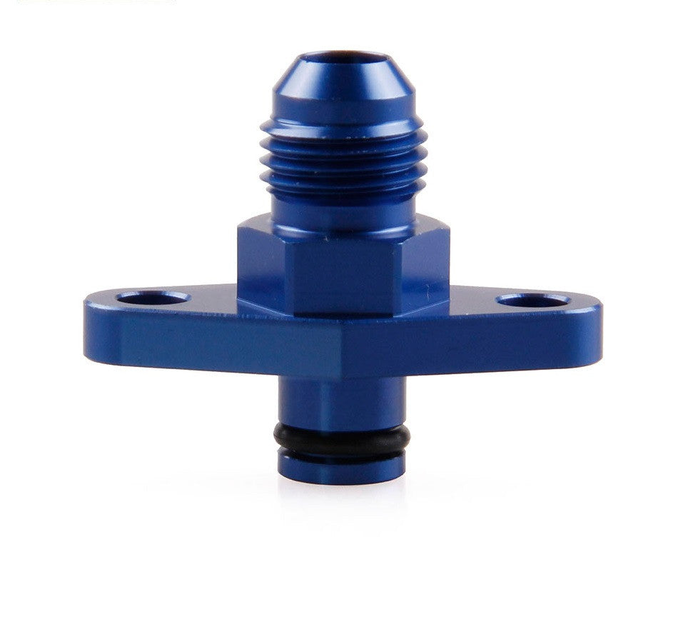 Fuel Rail Adaptor Nissan Blue