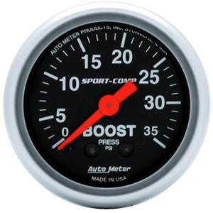 "Autometer 2-1/16"" Sport-Comp Boost"