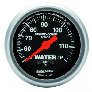 "Autometer 2-1/16"" Sport-Comp Water Temp"