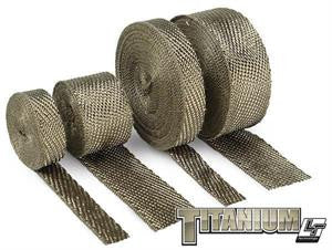DEI Exhaust Wrap - Titanium - 1800˚F - 50ft Roll