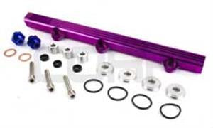 Fuel Rail 4G63T EVO 1-3 Purple