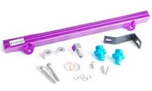 Fuel Rail 4G63T EVO 4-6 - Purple