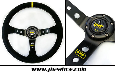 Steering Wheel OMP Replica - Deep Dish