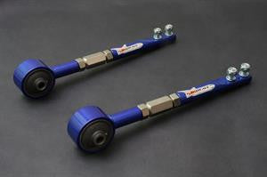 Hardrace Nissan S14/S15/R33/R34 Adjustable Front Tension Rods - (Rubber)