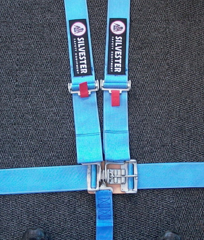 Silvester Lever Latch 5 Point Harness Blue