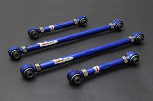 Hardrace Toyota AE86 Adjustable Rear Lateral Arm Set - (Rubber)