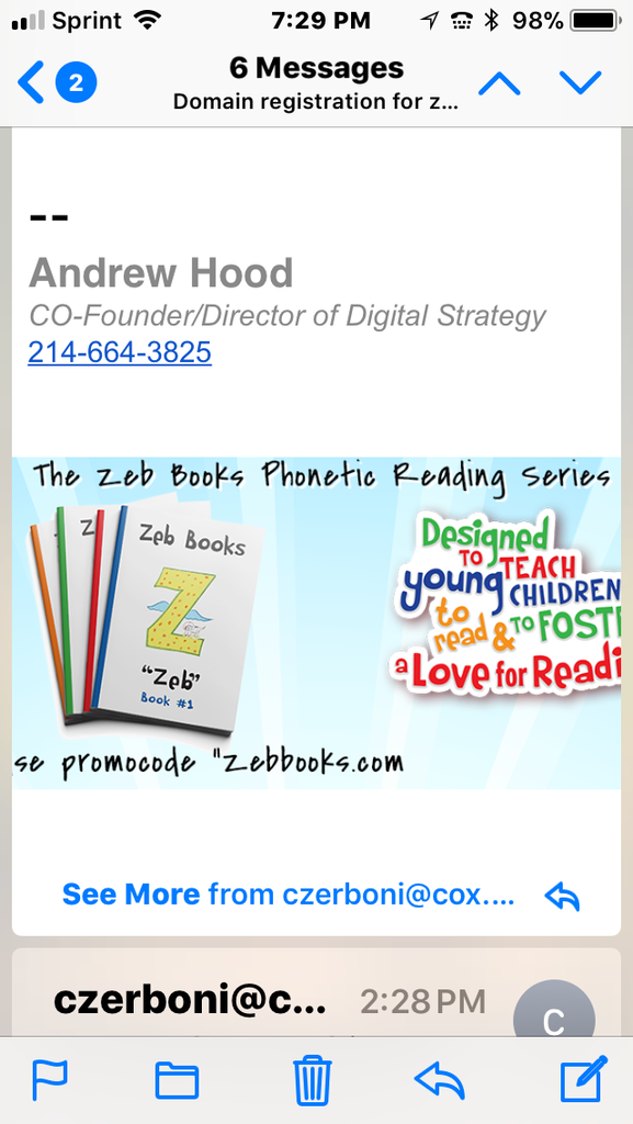 Zeb Books! An Early Childhood Phonics Reading Program for children ages 3 to 8! Created by a Montessori teacher who has taught children to read for 45 years!st post