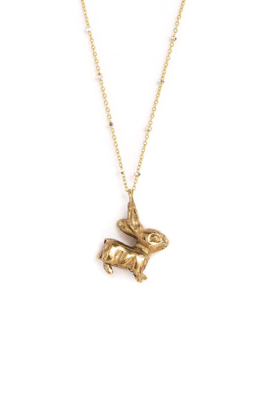 "CAT LUCK ""Some Bunny"" Necklace"