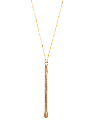 "CAT LUCK ""Ignite"" Necklace // Bronze"