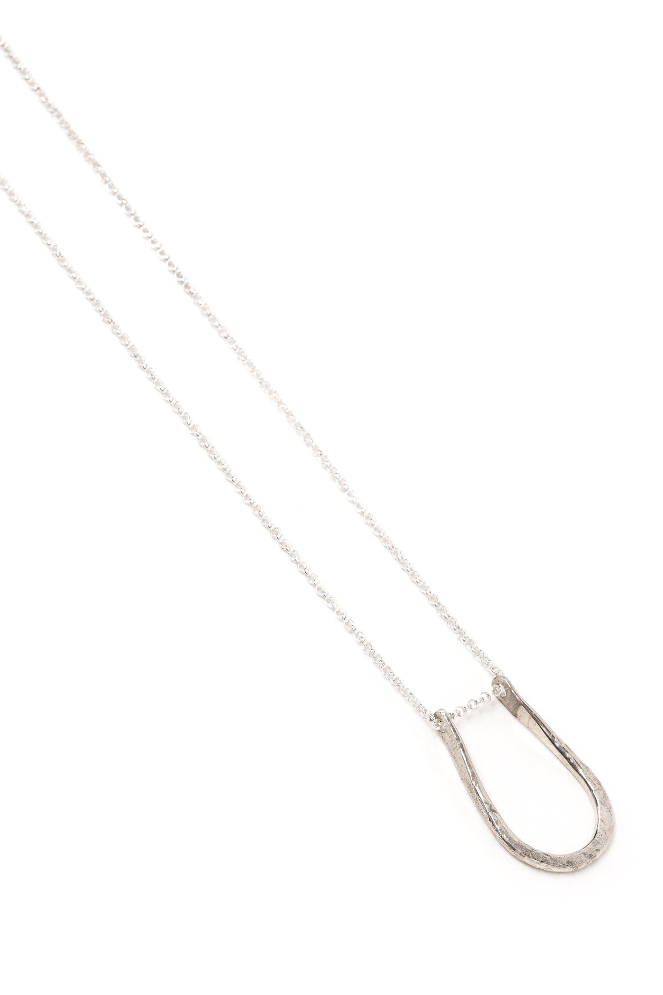 "CAT LUCK Pinched ""U"" Necklace"