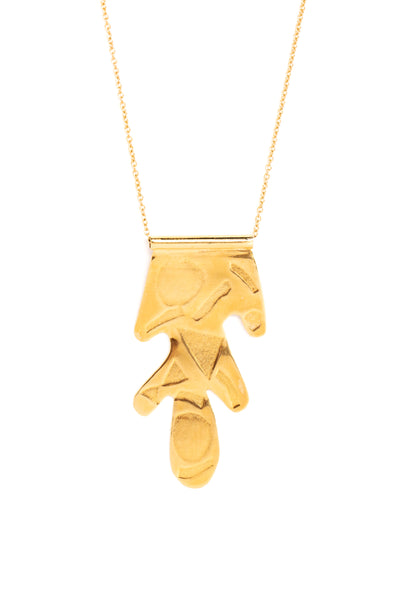 CAT LUCK See Shapes Necklace